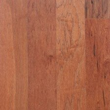 "Mountain Hickory Rustic 5"" Engineered Hickory Flooring in Musket"