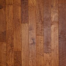 "Hickory Forge 5"" Engineered Hickory Flooring in Branding Iron"