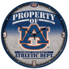 "Collegiate 18"" NCAA High Def Wall Clock"