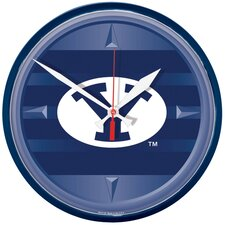 "Collegiate 12.75"" NCAA Wall Clock"
