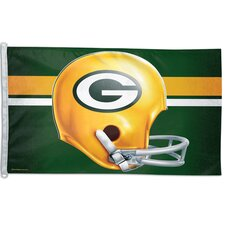 NFL Team Helmet Traditional Flag