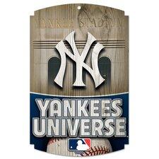 MLB Graphic Art Plaque