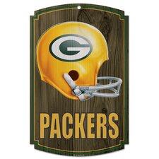NFL Helmet Graphic Art Plaque