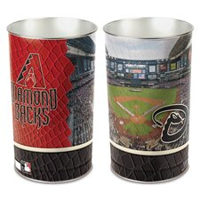 MLB Tapered Wastebasket