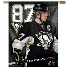 Vancouver Canucks Sidney Crosby Flag