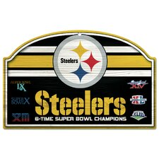 Steelers Wood Sign