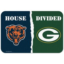 "Chicago Bears v. Green Bay Packers ""House Divided"" Mat"