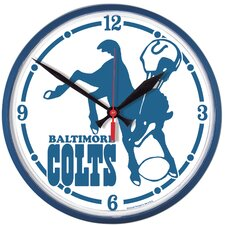 Baltimore Colts Clock