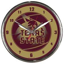 """NCAA 12.75"""" Wall Clock"""