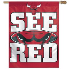 Chicago Bulls Banner Flag