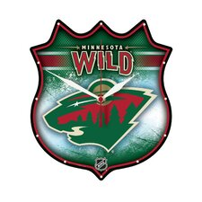 Minnesota Wild Plaque Clock