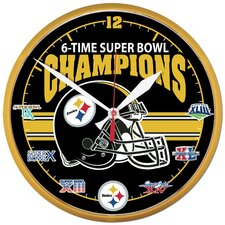 Steelers Super Bowl Champions Clock