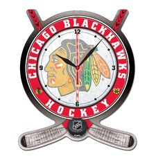 <strong>Wincraft, Inc.</strong> NHL Plaque Wall Clock