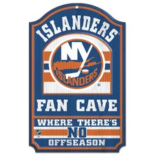 New York Islanders Wood Sign