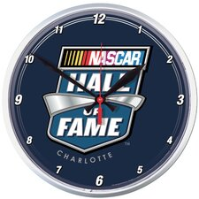 "<strong>Wincraft, Inc.</strong> NASCAR 12.75"" Hall of Fame Wall Clock"