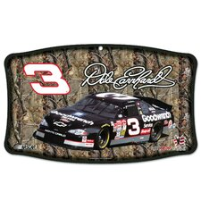 NASCAR Dale Earnhardt Wood Sign