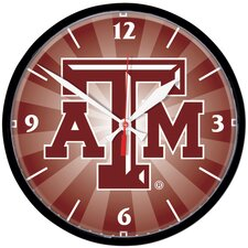 "Texas 12.75"" A and M University Wall Clock"
