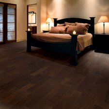 "Ranchero 4-1/2"" Engineered Red Oak Flooring in Burnt Umber"