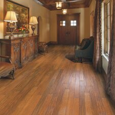 "Casitablanca Handcrafted 5"" Engineered Kupay Flooring in First Light"
