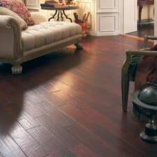 "Casitablanca Handcrafted 5"" Engineered Kupay Flooring in Galleon"
