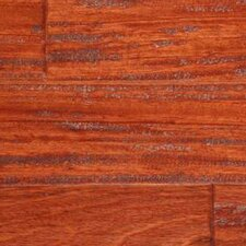 <strong>LM Flooring</strong> SAMPLE - Gevaldo Engineered Brazilian Cherry in Natural Hand Scraped