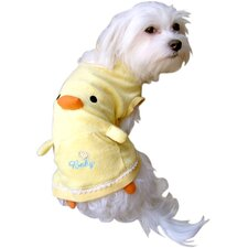 Squeaker Beak Duck Tank Top Dog Costume
