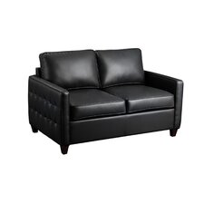 Tanner Leather Loveseat
