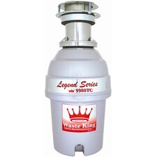 Legend 1 HP Garbage Disposal with Batch Feed