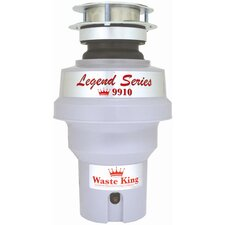 Legend 1/3 HP Garbage Disposal with Continuous Feed