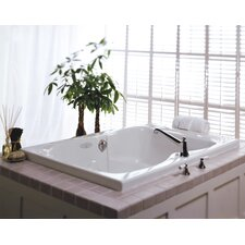 "Mito 60"" x 42"" Whirlpool Plus Tub"