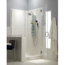 Ristorre Ovale Thermostatic Shower Panel