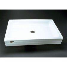 Tru-Level Rectangular Single Threshold Shower Base