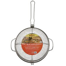 3-in-1 Stainless Steel Mesh Grilling Basket Combo