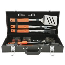 20 Piece Stainless Steel Grilling Tool Set in Attache Case