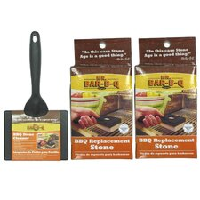 Stone Cleaning Grill Kit