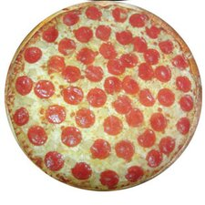 Round Pizza Pet Bed
