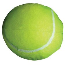 Round Tennis Ball Dog Pillow