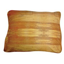 Rectangle Wood Flooring Dog Pillow