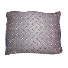 Rectangle Diamond Plate Dog Pillow