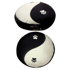Round Yin Yang Dog Bed
