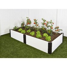 <strong>Frame It All</strong> Classic White Rectangular Raised Garden