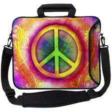 <strong>Designer Sleeves</strong> Executive Sleeves Peace PC Laptop Bag