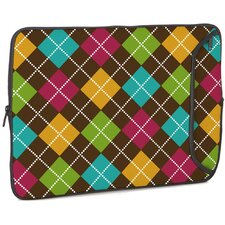 Argyle Brown Designer PC Sleeve