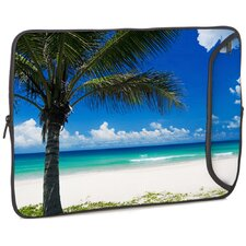Paradise Beach Designer PC Sleeve