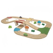 City 42 Piece Roadway Play Set