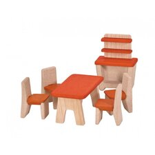 6 Piece Dinning Room Furniture Play Set