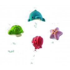 Preschool 4 Piece Sea Life Bath Play Set