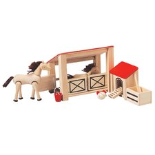 <strong>Plan Toys</strong> Dollhouse Stable