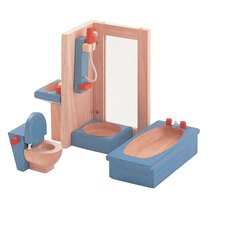 <strong>Plan Toys</strong> Dollhouse Bathroom-Neo