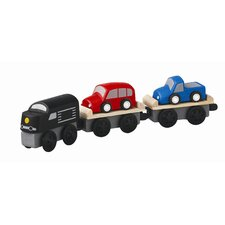 <strong>Plan Toys</strong> Car Carrier Train